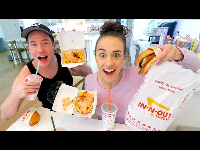 I CAN FINALLY TALK ABOUT MY NETFLIX SPECIAL! -  In-N-Out Mukbang