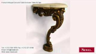 French Antique Console Table Victorian Tables For Sale