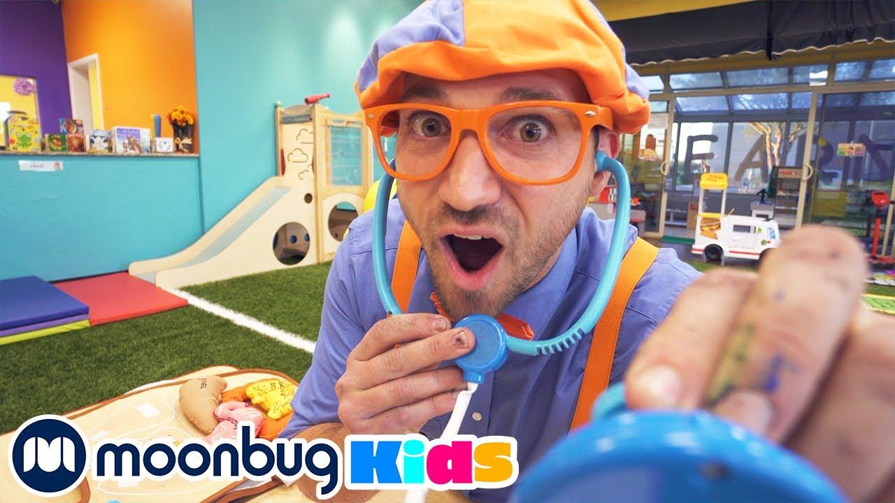 Blippi Visita un Lugar de Juegos | Vídeos Educativos para Niños | Moonbug Kids en Español