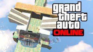 GTA V Online - Playground nas ALTURAS! Corrida maldita!