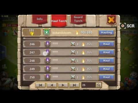 Cara Memilih Guild Torch Battle (Castle Clash)