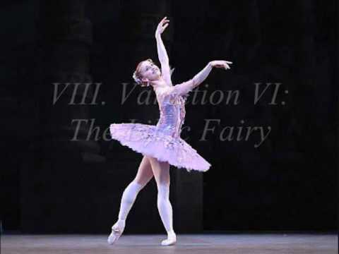 """The Sleeping Beauty Ballet (Tchaikovsky) -Prologue: """"The Christening"""": III. Pas de Six (Part II)"""
