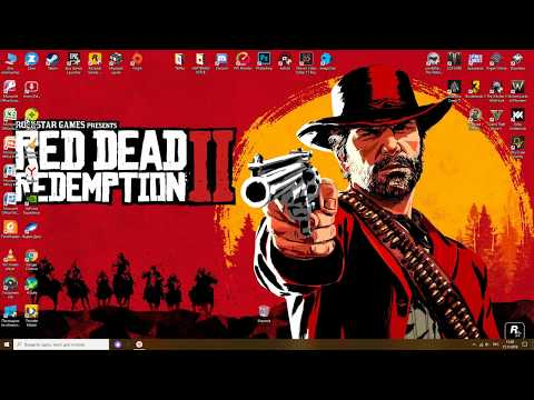 Red Dead Redemption 2 (РДР2) ★ Как убрать курсор!!!