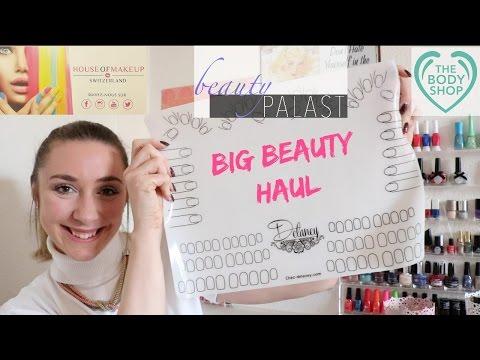 House of MakeUp - Beauty Palast - The Body Shop - Chez Delaney - Achats Février/Mars