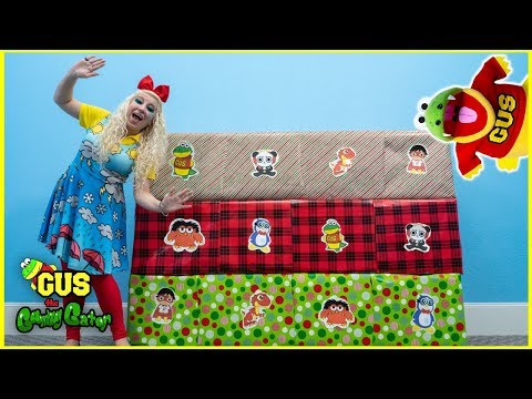 Christmas Presents Giant Smash Surprise Toys Challenge!!!