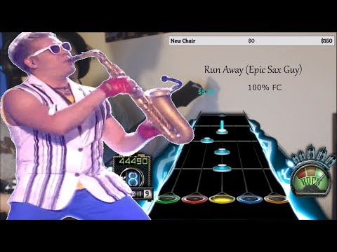 Run Away Epic Sax Guy 100% FC