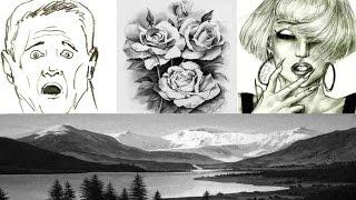 РИСОВАНИЕ карандашом  ОРИГИНАЛЬНЫЕ методы и приёмы рисования(РИСОВАНИЕ карандашом ОРИГИНАЛЬНЫЕ методы и приёмы рисования. Полный курс