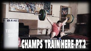 Настоящий зал ТА. Грузия [ENG SUB] / Real Weightlifting gym. Georgia. EP 2