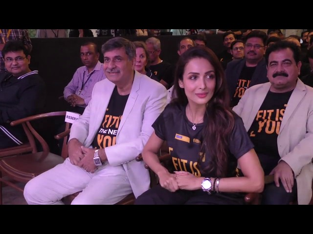 Malaika Arora Launch #WalkPeChal Campaign Initiated By Reliance Nippon Life Insurance company
