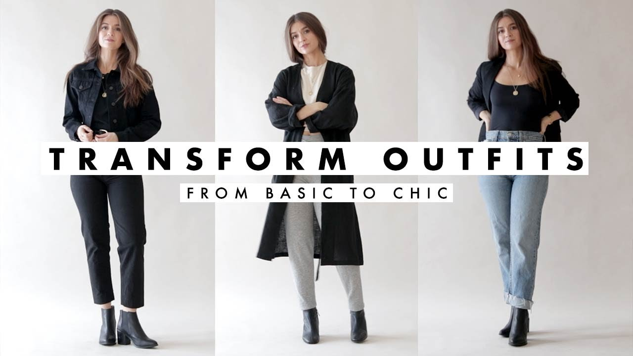 How To Transform Outfits for Fall - Basic to Chic | October 2018 | Dearly Bethany 4