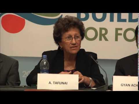 Side Event - Adimaimalaga Fanny Tafunai on Small-islands Economies
