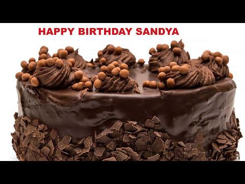 Sandya - Cakes Pasteles_674 - Happy Birthday