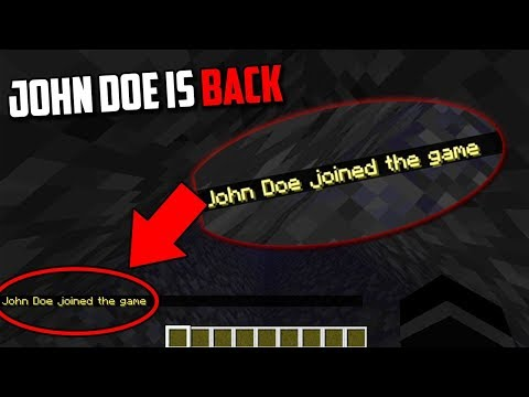 John Doe is going to HACK Minecraft! (Scary Minecraft Video)