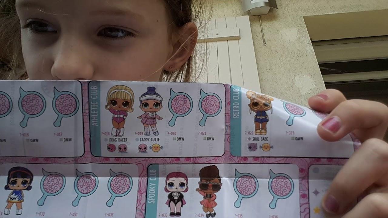 LOL Surprise Doll série Spy Eye Under Wraps Capsule Poupée Grande Série Vite