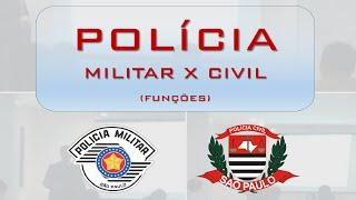 Baixar PM x Polícia Civil. Entenda as diferentes funções (Delegacia, Inquérito, Delegado)