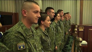 Kosovo asserts statehood with vote to create army