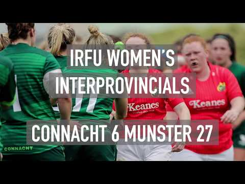 Connacht Women 06 Munster U18 Women 27: IRFU Women's Interprovincial Championship