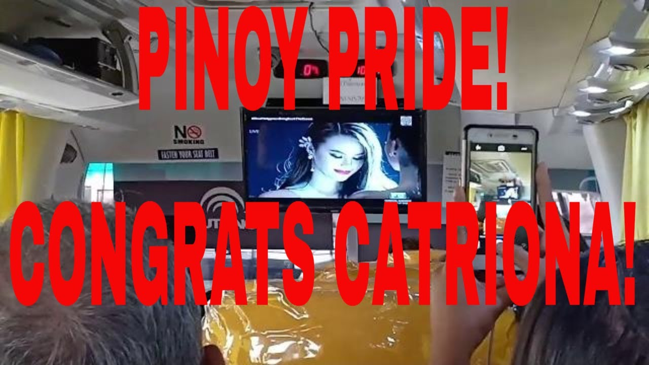 Catriona Gray Miss Universe 2018 Pinoy Reaksyon