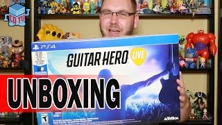 Guitar Hero Live Unboxing