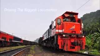 Kereta Api (Railways) : Cab View CC20505 from Tanjung Karang to Tarahan