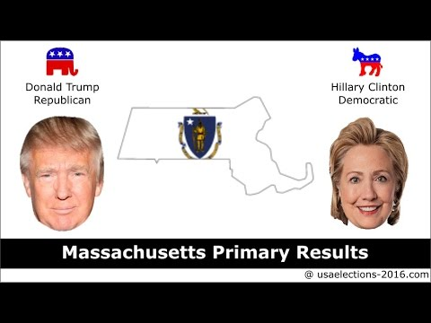 Massachusetts Primary Result 2016 : US Election 2016