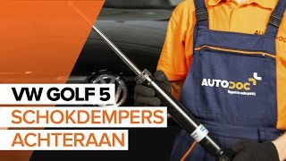 Hoe Schokdemper vervangen VW GOLF V (1K1) - video gratis online
