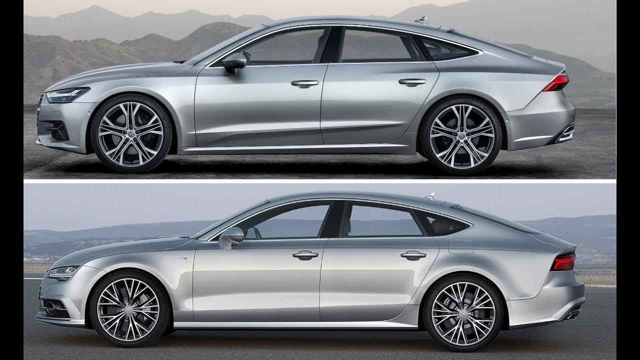 New 2019 Audi A7 Sportback Vs. Old 2017 Audi A7 Sportback