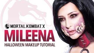 Mileena Halloween Makeup Tutorial