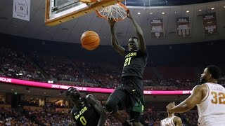 Baylor Basketball (M): Highlights vs. Texas