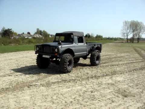Jeep Kaiser M715 Amc 401 1967 Frame Off Restoration