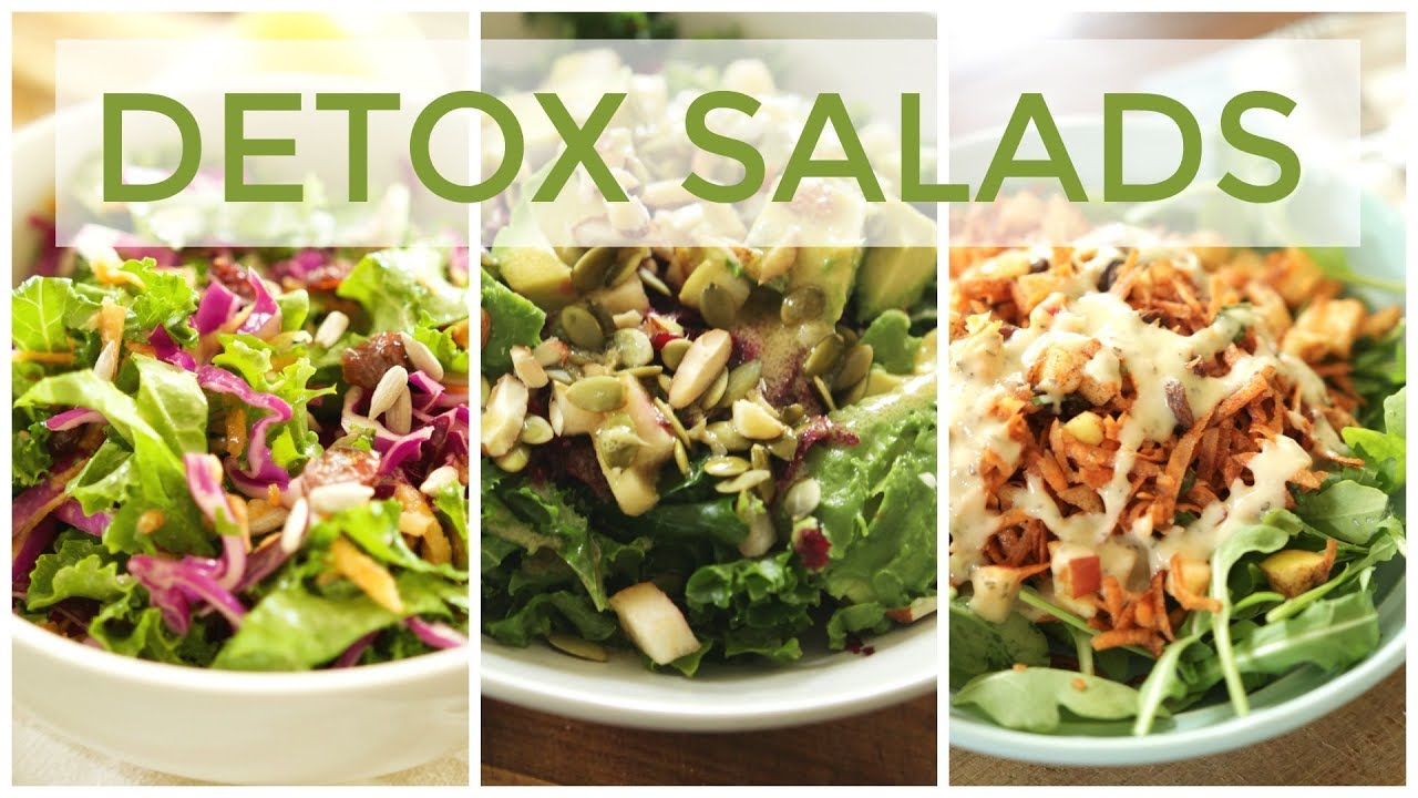3 detox salad recipes easy healthy recipes youtube 3 detox salad recipes easy healthy recipes forumfinder Gallery