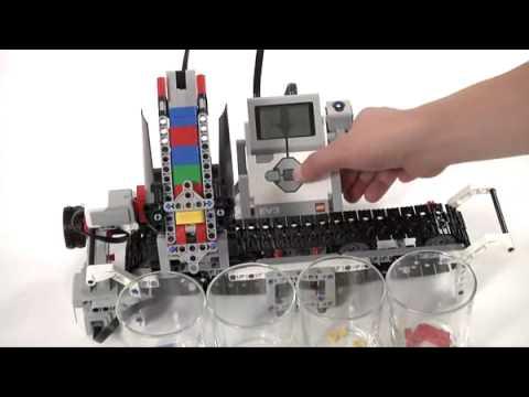 Lego Mindstorms EV3 Core Set - Color Sorter - YouTube