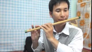 Neo đậu bến quê - sáo trúc live (Cao Trí Minh). cover Quang Lê