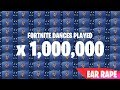 Fortnite Dances Played One Million Times! (Marsh Walk, Floss, Default Dance, Wiggle)