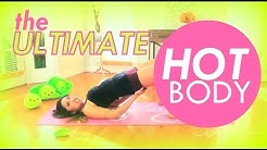 The ULTIMATE Hot Body Workout for Flat Abs, Slim Inner Thighs, Perky Butt & Toned Arms