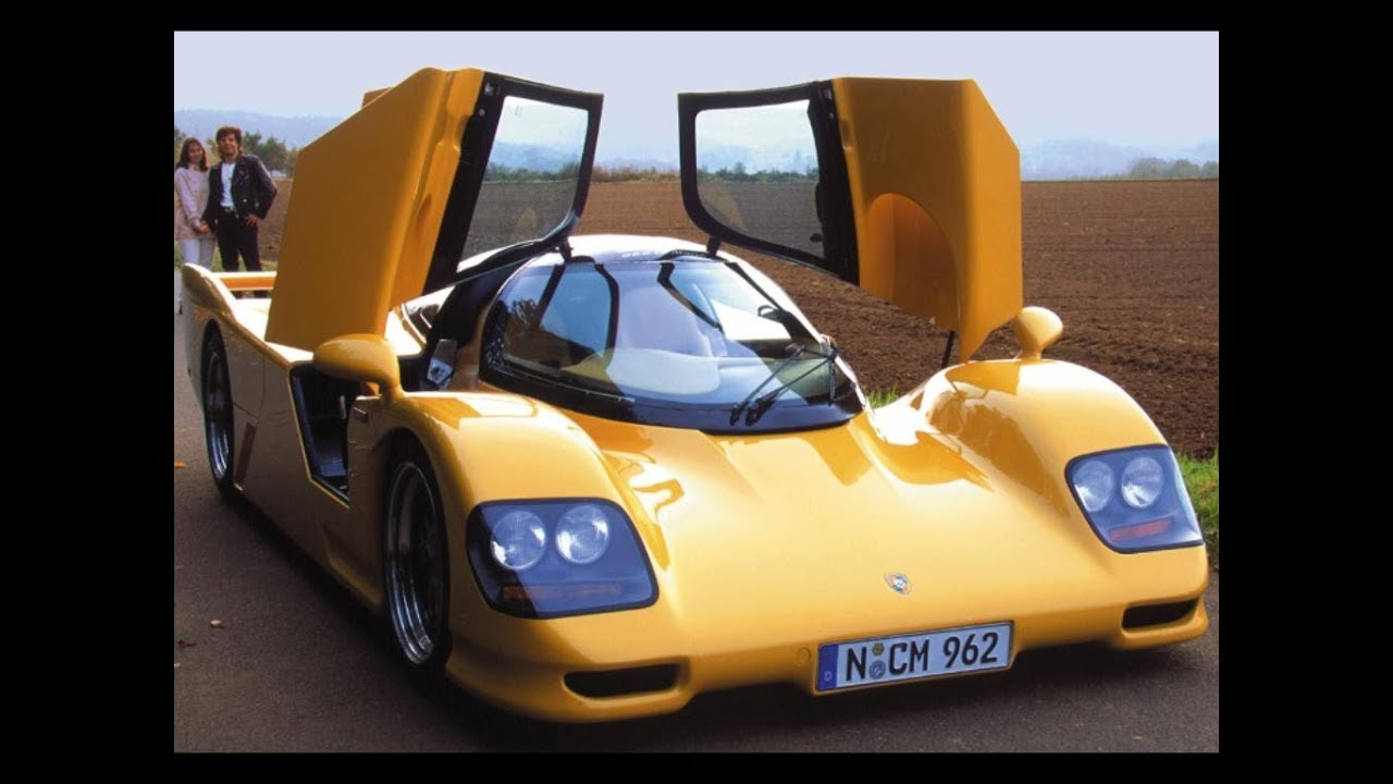 Dauer 962 Le Mans Porsche 1994, Fast Car In The World. - YouTube