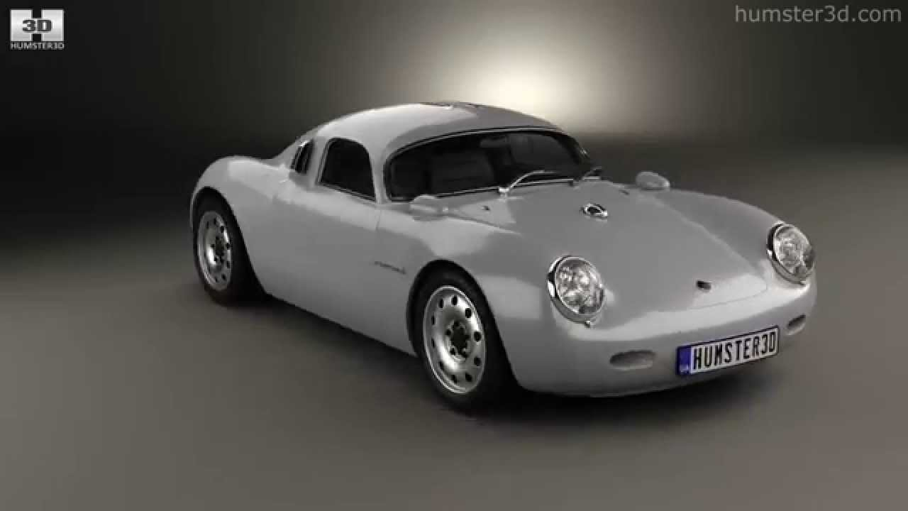 Porsche 550 Vintech Coupe 2012 By 3d Model Store Humster3d Com Youtube