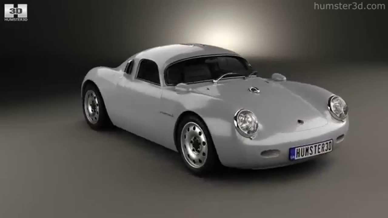 Porsche 550 Vintech Coupe 2012 By 3d Model Store Humster3d Com Youtube