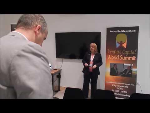 Venture Capital World Summit 2016 Karen Newton in Cardiff