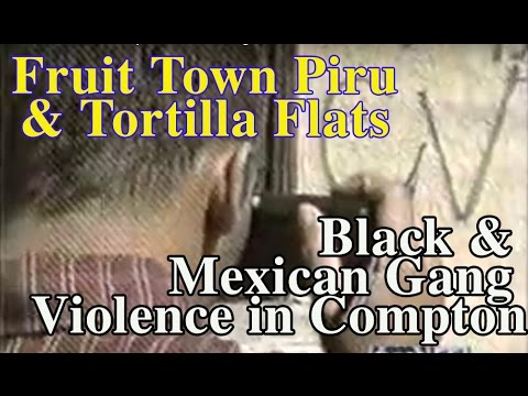 Black and Mexican conflict in Compton and Los Angeles