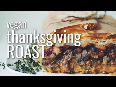 VEGAN THANKSGIVING ROAST | hot for food