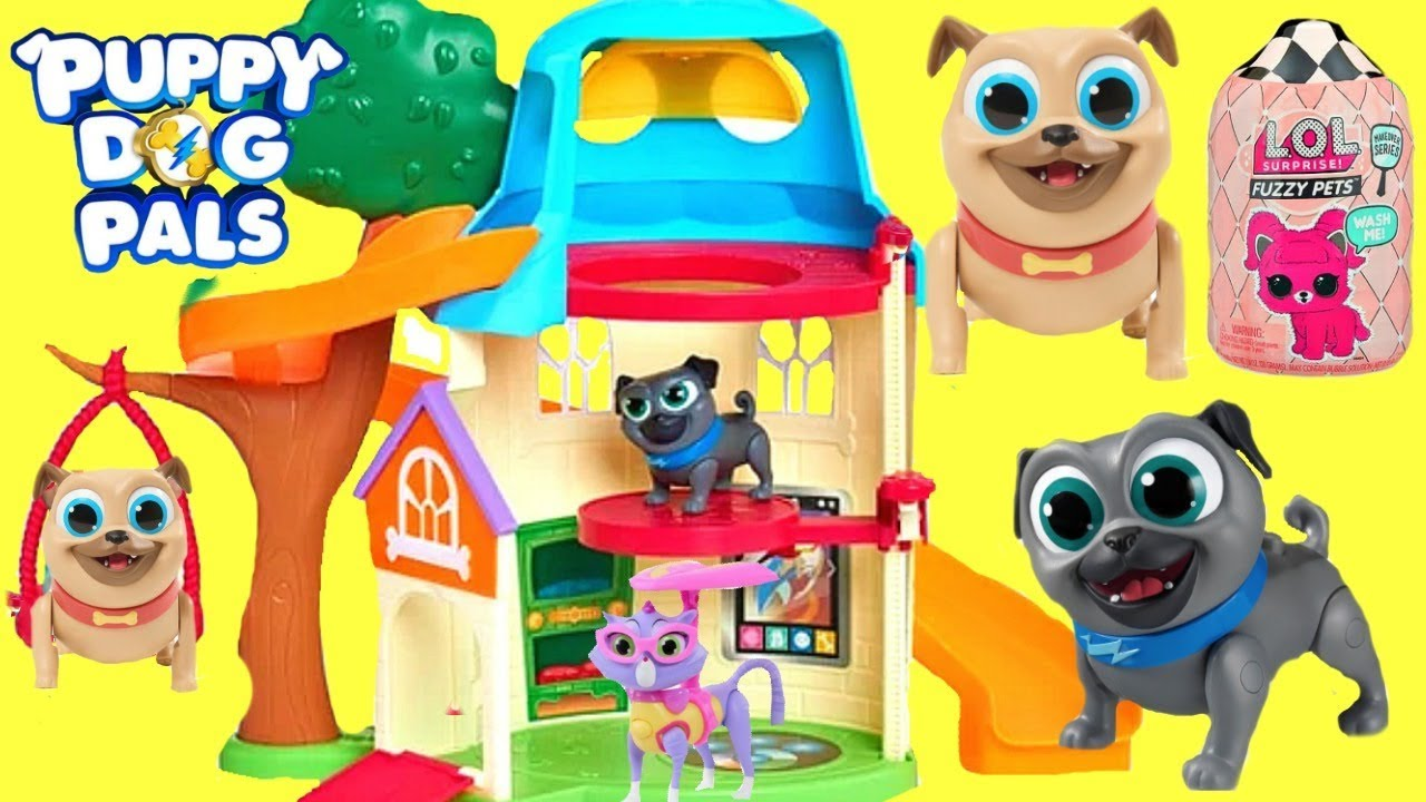 Download Los Puppy Dog Pals se Mudan a una Nueva Casa y Encuentran un Tesoro de LOL Surprise