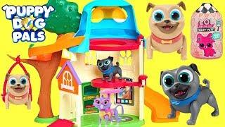 Los Puppy Dog Pals se Mudan a una Nueva Casa y Encuentran un Tesoro de LOL Surprise