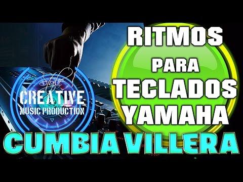 (Ritmo) Style para Teclados Yamaha Cumbia Villera,Series PSR, PSR S...