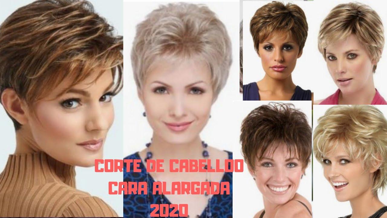 Corte De Pelo Corto 2020 2021 Mujer Cara Alargada 20 30 40 50 Youtube