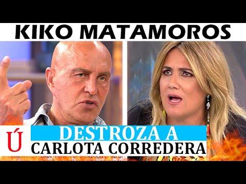 Mentirosos! Kiko Matamoros destroza a Carlota Corredera, Jorge Javier y Telecinco por Rocío Carrasco