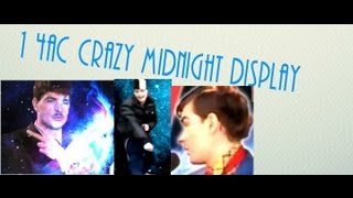 1 час CRAZY MIDNIGHT DISPLAY