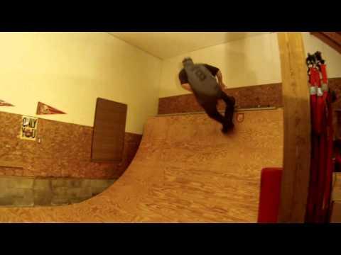 BMX/SKATE Mini Ramp session. Joe Gannon
