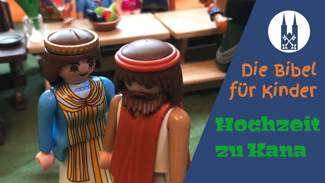Kindern Mit Playmobil Die Bibel Erklart Die Hochzeit Zu Kana