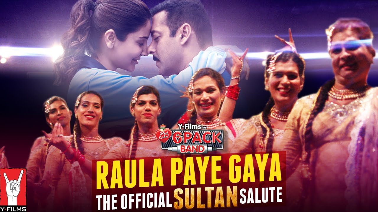 The official sultan salute | raula paye gaya | 6 pack band feat.